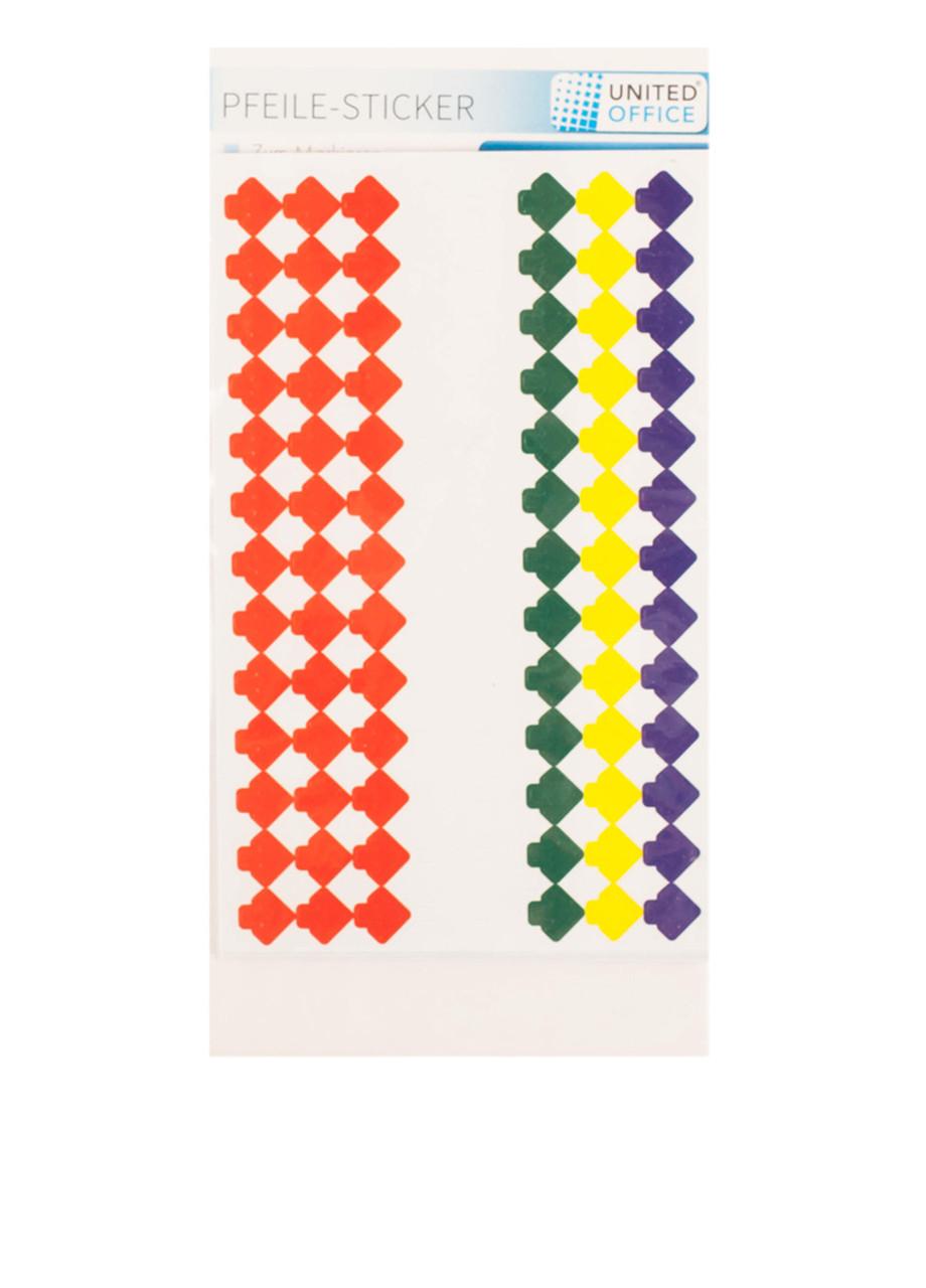Стикеры набор UNITED OFFICE разноцветный