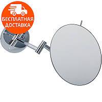 Зеркало косметическое трехкратное увеличение Imprese 181222 хром, фото 1