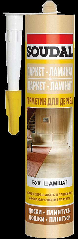 Паркетный герметик | Герметик д/паркета БУК /lіg.oak/ 280мл [000020000000045009]