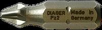 Бита крестообразная DIAGER   Біта хрест.PZ 2 70мм Diager [96SD0096SDPZ2L0700]