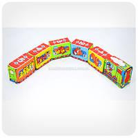 Развивающая игра для малышей «Весёлый паровозик» (на липучках)