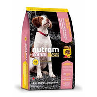 Сухой корм S2 Nutram Sound Balanced Wellness для щенков, 2.72 кг