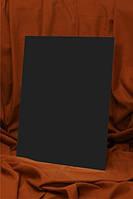 Полотно на картоні, 18*24 см, Чорний, бавовна, акрил, ROSA Studio