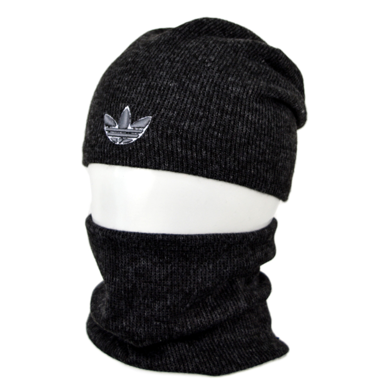 Комплект шапка+баф adidas SP1902 черный