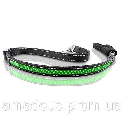 Поводок Регулируемый Led Animall 2,5/120-150 См, Зеленый