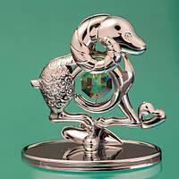 "Фигурка ""Символ 2015 года - Овца"" Crystocraft с кристаллами Swarovski, 0347-001 SL"