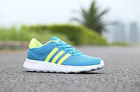 Мужские кроссовки Adidas Neo 2015 голубые, фото 1