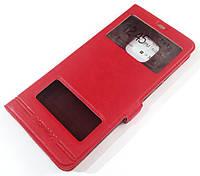 Чохол книжка з віконцями momax для Huawei Mate 20 Pro Червоний