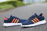 Женские кроссовки Adidas Neo 2015 blue-orange