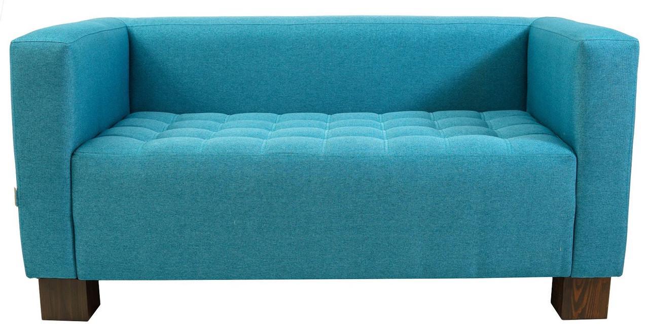 Офисный диван Спейс 150 см 1 кат голубой