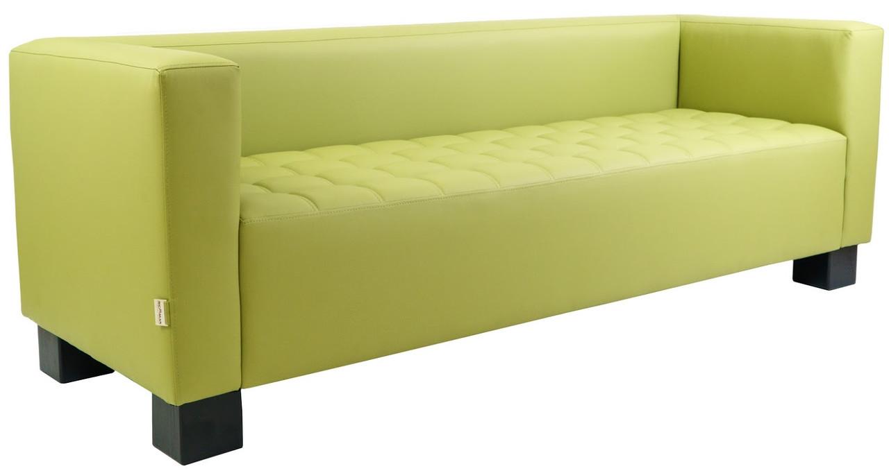 Офисный диван Спейс 210 см зеленый