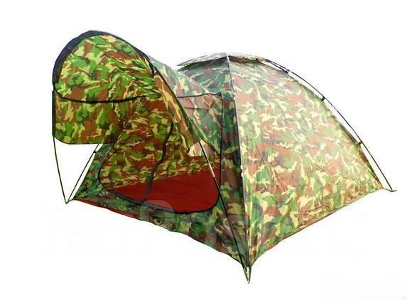 Палатка туристическая летняя 3-х местная(2.1х2.1м), фото 2