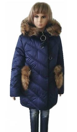 Пальто для девочек 134-152, фото 2