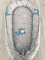 Кокон для новорожденного Hippo-po Dino 70 × 100 см (С122-1100)