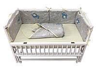 Комплект для детской кроватки Hippo-po Dino 120 × 60 см (С122-0214)