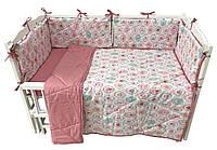 Комплект для детской кроватки Hippo-po Ice-cream 120 × 60 см (1057-0230)