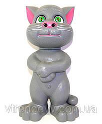 Говорящий Кот Том колонка Talking TomMP3 плеер Original Grey серый