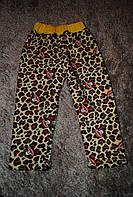 Штанишки для девочек леопардовые с обезьянка