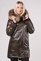 Куртка парка женская с мехом Vechereme 9082, фото 1