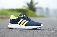 Женские кроссовки Adidas Neo 2015 blue-green, фото 1