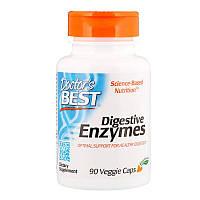 """Пищеварительные ферменты Doctor's Best """"Digestive Enzymes"""" поддержка пищеварения (90 капсул)"""