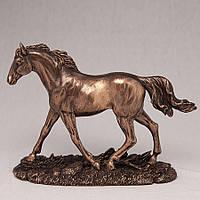 Статуэтка Бегущий конь 76064 A1 (14 см) Veronese Италия
