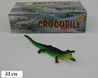 """Крокодил Гонконг H38W резин.с пищалкой 13"""" 6шт в п/э /10/240/ 24шт.в кор.35,5*10*18,7см (H38W)"""