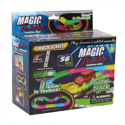 Автотрек светящийся Magic Tracks, фото 2