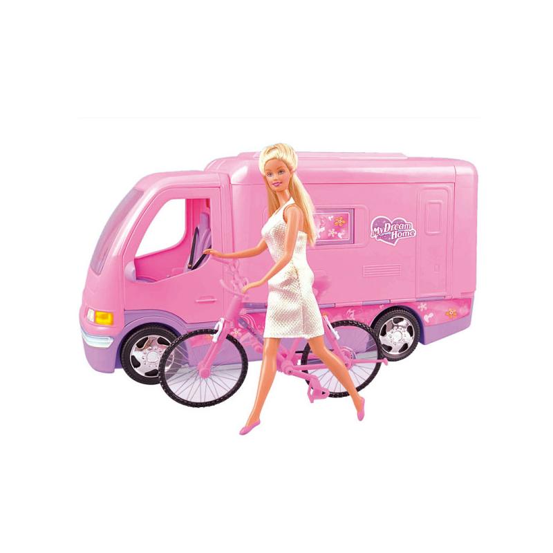 Авто-домик для куклы Барби