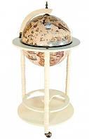 Глобус бар напольный на трёх ножках 33001 W