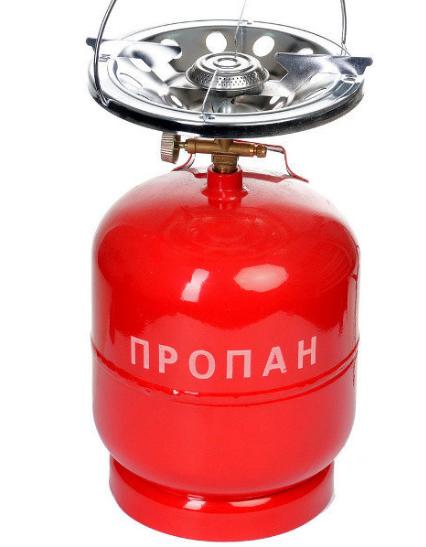 Газовая горелка Sigma, газовый кемпинг 8л