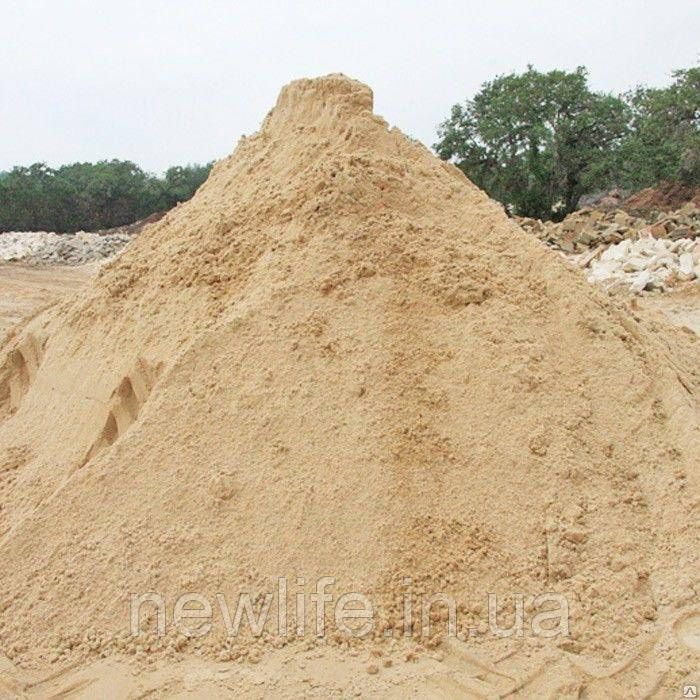 Песок для стройки
