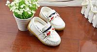 Туфли детские белые 20005, фото 1