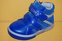 Детские демисезонные Ботинки Clibee Польша h120 Для мальчиков Голубой размеры 21_26, фото 1