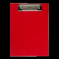 Кліпборд BUROMAX, А5, PVC, червоний