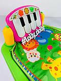 Развивающий коврик-пианино PA318 аналог Fisher Price, Розовый, фото 10