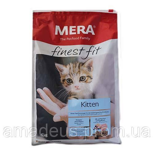 Mera Finest Fit Kitten Корм Для Котят, 4 Кг