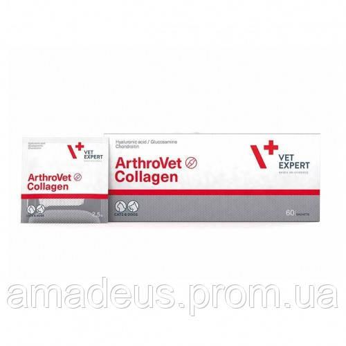 АртроВет Колаген (60 пак.) поддерживающий и защищающий суставы собак и кошек (колаген)
