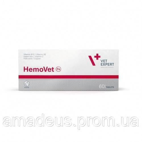 ГемоВет (60 таблеток) для собак с симптомами анемии