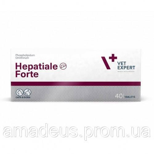 VetExpert Hepatiale Forte 300 мг (Гепатиале Форте 40 таблеток) для собак и кошек с заболеванием печени