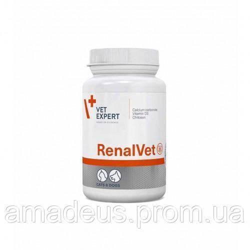 РеналВет для собак и кошек с почечной недостаточностью, 60 капсул