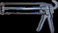 Пистолет для герметиков рамный черный, METALVIS Украина  [001040000000000002]