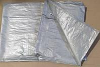 Тент сірий 6х8 (140 г/м²)