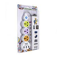 Сетевой фильтр-удлинитель на 3 розетки+3 USB
