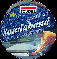 Лента монтажная битумная 5.0см/10м/alu Soudaband 10м, SOUDAL Бельгия  [00004000000SB0500A]