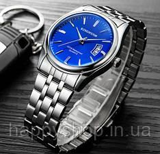 Мужские кварцевые часы Kingnuos (Blue)