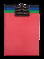Кліпборд-папка BUROMAX, А4, PVC, асорті