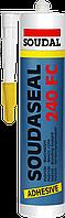 Клей-герметик SOUDASEAL 240FC черный 600мл., SOUDAL Бельгия  [000020000000083603]