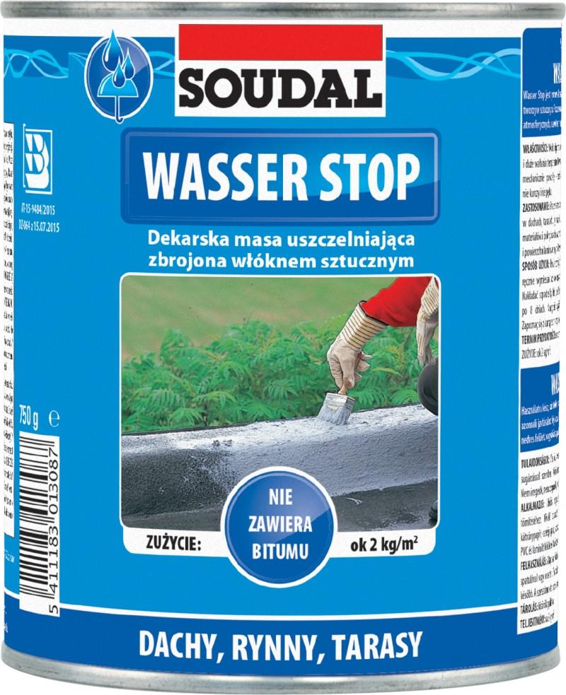 Мастика для кровли WASSER STOP | Мастика д/покрівлі Wasser Stopp 750мл [00004000WAS0000001]