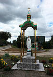 Каплиця 1.35х1.35м в розібраному стані і куполи з кулями і хрестами, фото 2